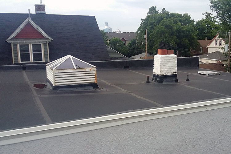 Epdm Rubber Roofing System Mn Roofing Contractors